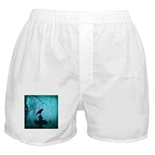 Cute Crow art Boxer Shorts