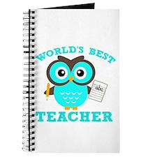 World's Best Teacher (Blue) Journal