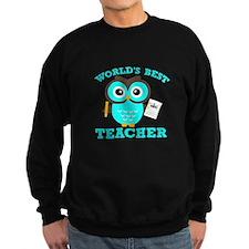 World's Best Teacher (Blue) Sweatshirt
