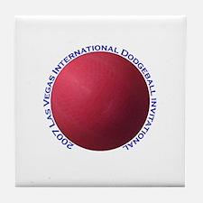 Las Vegas International Dodge Tile Coaster