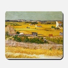 Van Gogh The Harvest Mousepad