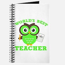 World's Best Teacher (Green) Journal