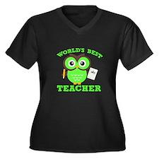 World's Best Teacher (Green) Plus Size T-Shirt