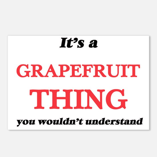 It's a Grapefruit thi Postcards (Package of 8)