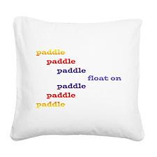 Paddle_float Square Canvas Pillow
