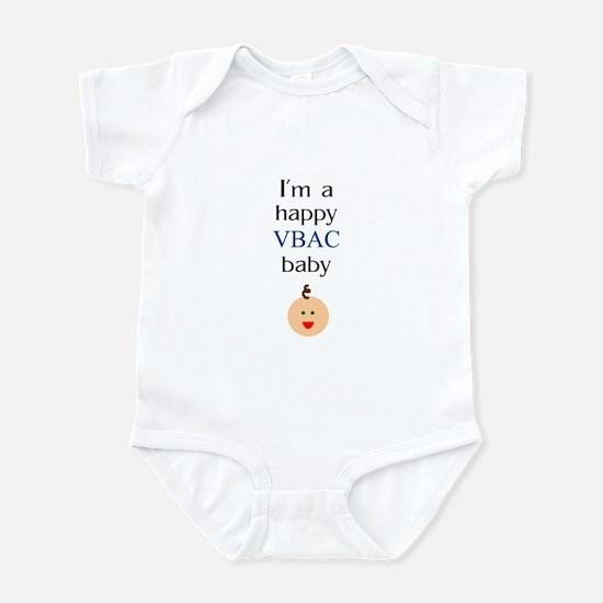 Happy VBAC baby 1 Infant Bodysuit