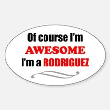 Rodriguez Awesome Family Decal
