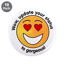 """Cute Pickup lines 3.5"""" Button (10 pack)"""
