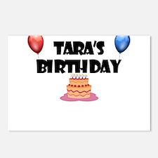 Tara's Birthday Postcards (Package of 8)