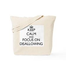 Disavowal Tote Bag