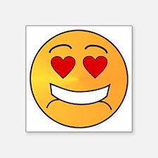 "DAT Emoji Square Sticker 3"" x 3"""