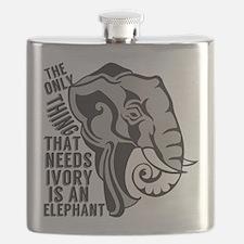 Save Elephants Flask