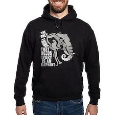 Save Elephants Hoodie