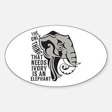 Save Elephants Decal
