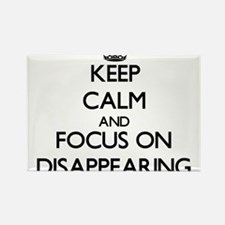 Keep Calm and focus on Disappearing Magnets