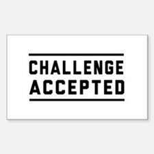 Challenge Accepted Decal