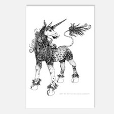 Dappled Unicorn Postcards (Package of 8)