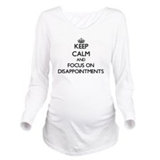 Cute Disappointment Long Sleeve Maternity T-Shirt