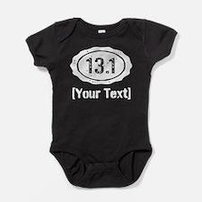 13.1 Personalized Half Marathon Baby Bodysuit