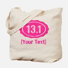 13.1 Personalized Half Marathon Tote Bag