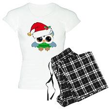 Christmas Owl Pajamas