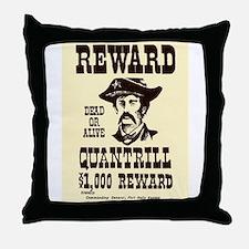 William Quantrill Throw Pillow