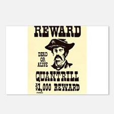 William Quantrill Postcards (Package of 8)