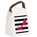 High heel Canvas Lunch Bag