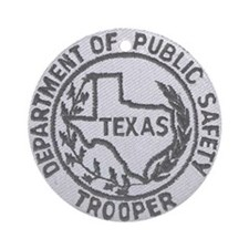 Texas Trooper Ornament (Round)