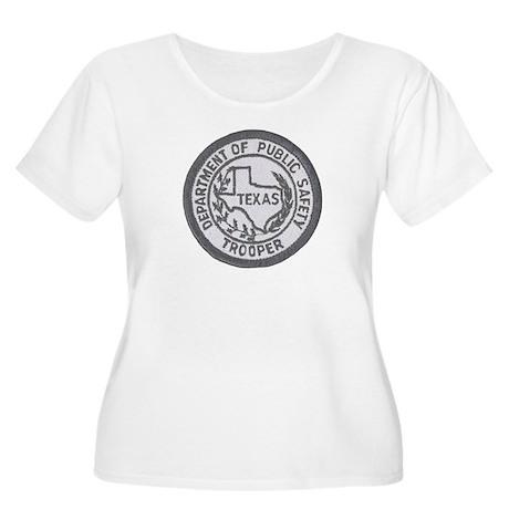 Texas Trooper Women's Plus Size Scoop Neck T-Shirt