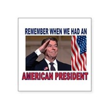 REAGAN SALUTE Sticker