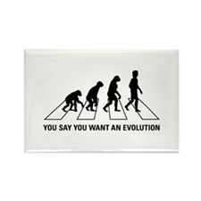 Evolution Road Rectangle Magnet