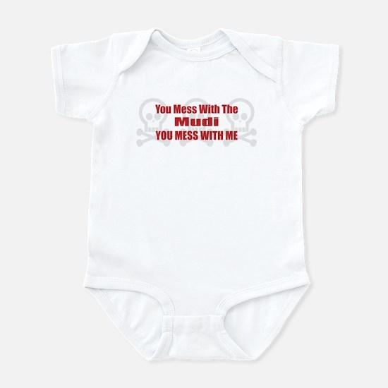 Mess With Mudi Infant Bodysuit