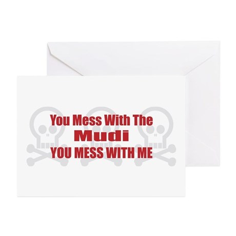 Mess With Mudi Greeting Cards (Pk of 10)