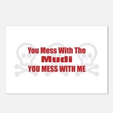 Mess With Mudi Postcards (Package of 8)