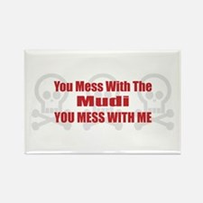 Mess With Mudi Rectangle Magnet (100 pack)