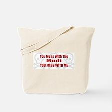 Mess With Mudi Tote Bag