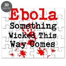 Ebola Something Wicked This Way Comes Puzzle