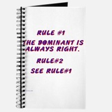 THE RULES! Journal