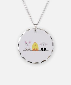 Easter Animal Border Necklace