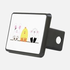 Easter Animal Border Hitch Cover