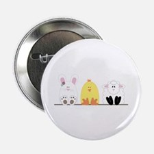"""Easter Animal Border 2.25"""" Button (100 pack)"""
