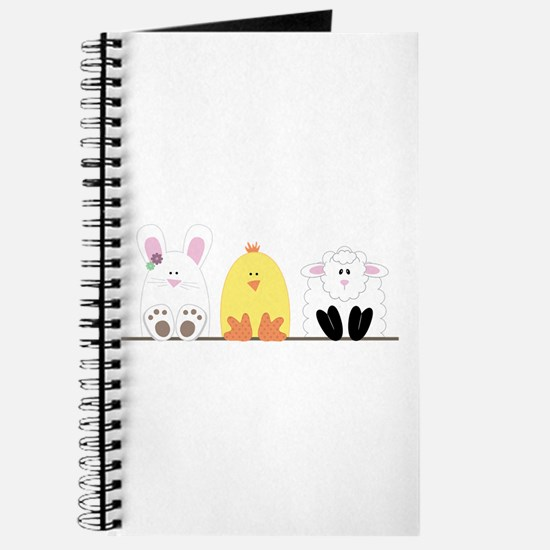 Easter Animal Border Journal