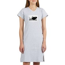 Cute Swans Women's Nightshirt