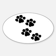Pet Paw Print Decal