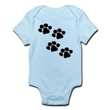 Pet Paw Prints Body Suit