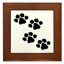Unique Animals Framed Tile