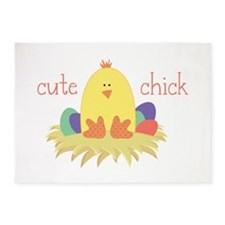 Cute Chick 5'x7'Area Rug