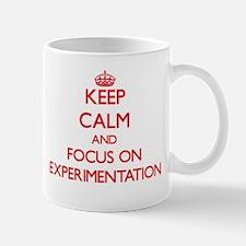 Keep Calm and focus on EXPERIMENTATION Mugs