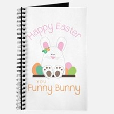 Happy Easter you funny Bunny Journal